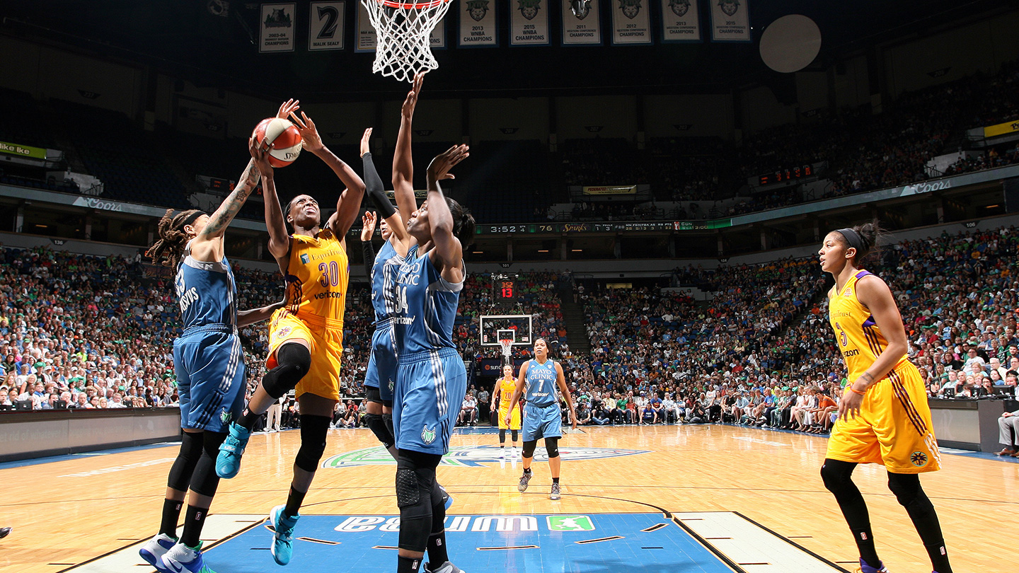 A look at the WNBA Finals matchup between Lynx and Sparks